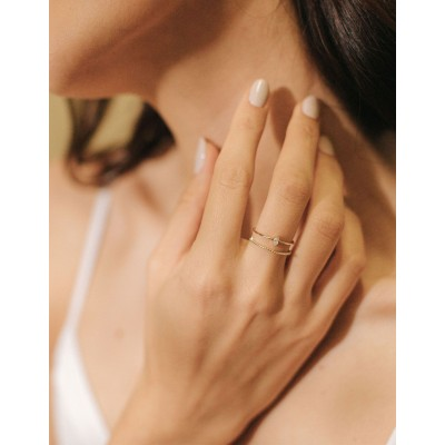 Lover's Tempo - Bague - Marquise - Or