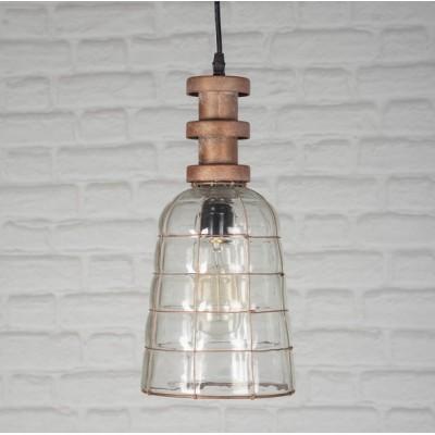 Forepost - Luminaire suspendu - métal et verre