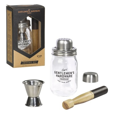 Gentlemen's Hardware - Ensemble à cocktail