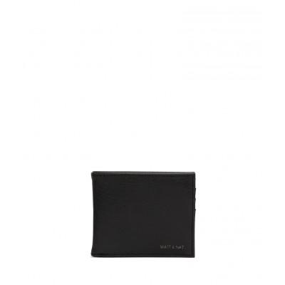 Matt & Nat - Portefeuille - Rubben vintage - Noir