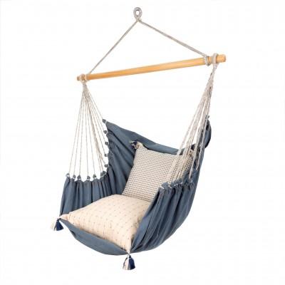 Indaba - Chaise hamac en denim