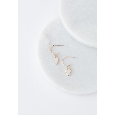 Lover's Tempo - Boucle d'oreille - Everly heart - Argent