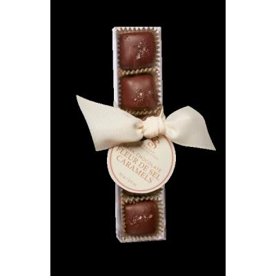 Saxon- Chocolates - Chocolats noirs au caramel salé