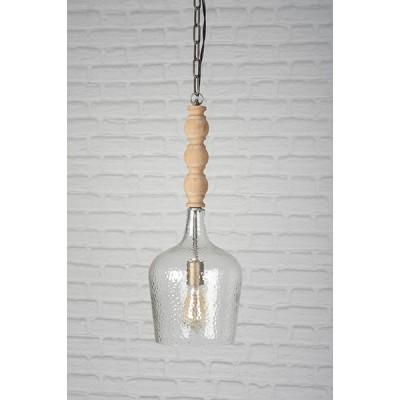 Forepost - Luminaire suspendu - bois et verre