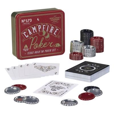 Gentlemen's Hardware - Ensemble de poker pour le feu de camp