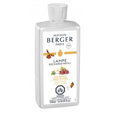 Recharge Lampe Berger 500 ml - Baies rouges