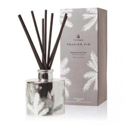 THYMES - Diffuseur de parfum argent 118 ml - Frasier Fir