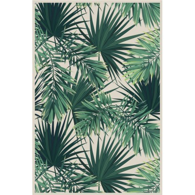 Beaumont - Tapis vinyle - Jungle - 19.5''x32""