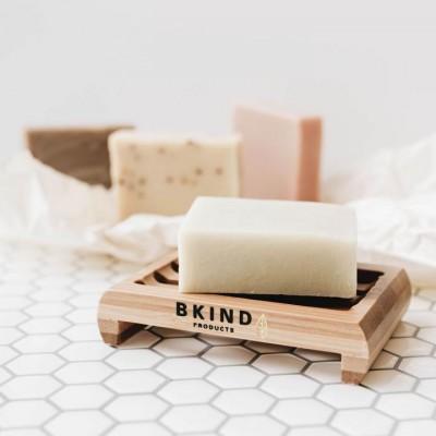 Bkind - Porte-savon en bambou