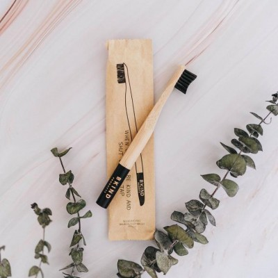 Bkind - Brosse à dent pour enfant biodégradable en bambou