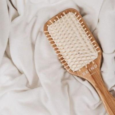 Bkind - Brosse à cheveux en bambou