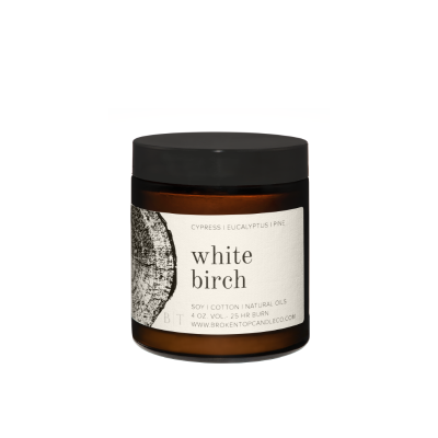 Broken Top - Bougie de voyage - White birch