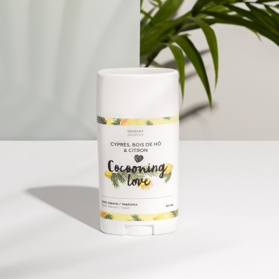 Cocooning love - Déodorant - Cyprès, bois de hô & citron