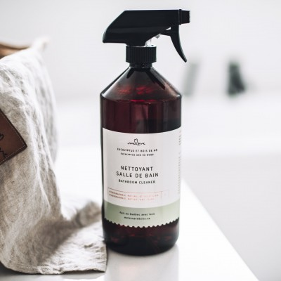 melove - nettoyant salle de bain - Eucalyptus et bois de hô