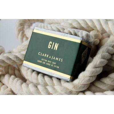 Clark & James - Savon sur corde de coton - Gin