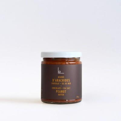 Logan Petit Lot - Beurre d'arachides - Chocolat et Sel de Mer