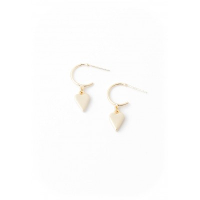 Lover's Tempo - Boucle d'oreille - Everly heart - or