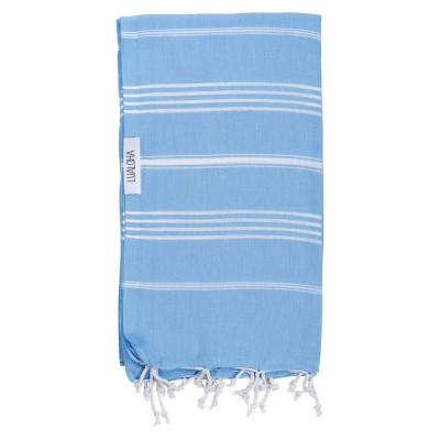 Lualoha - Serviette Turque - Bleu ciel