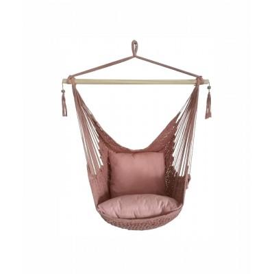 Mimosa - chaise hamac - rose