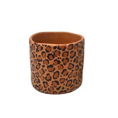 Pot motif guépard