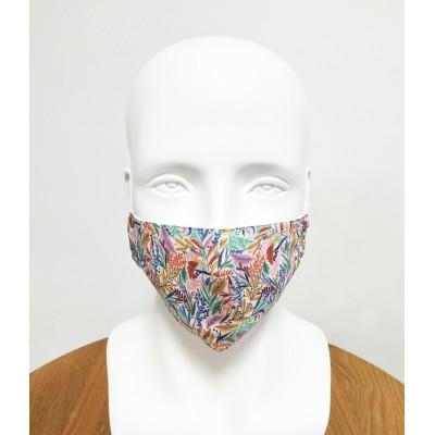 Masque - Adulte - Floral coloré