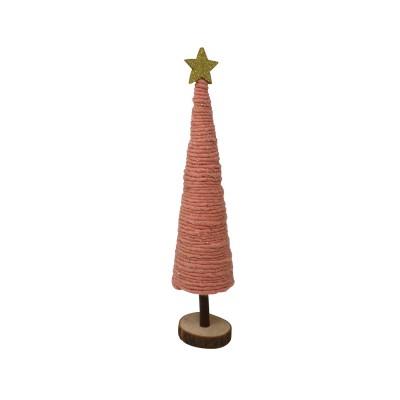 Mimosa - Sapin rose décoratif