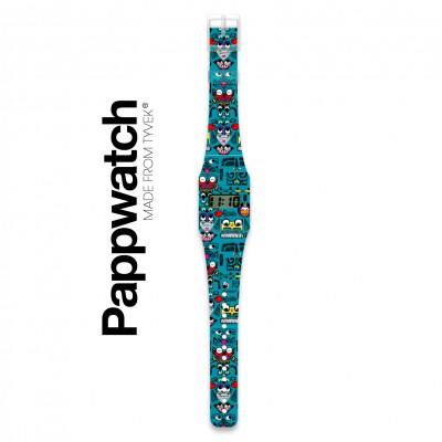 Pappwatch - Montre pour Enfant - Bonhommes