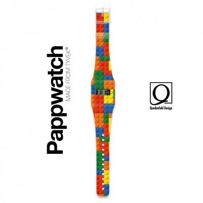 Pappwatch - Montre pour Enfant - Lego