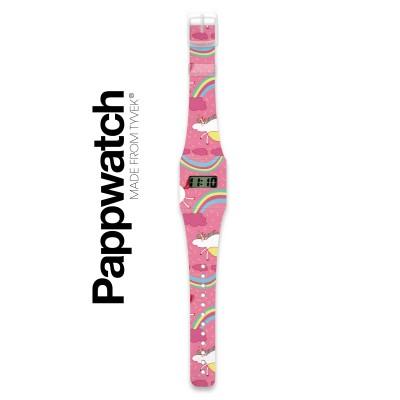 Pappwatch - Montre pour Enfant - Licornes
