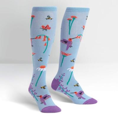 Sock it to me - chaussettes - Le vol des pollinisateurs - hauteur des genoux