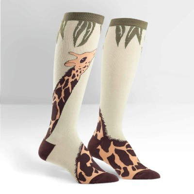 Sock it to me - chaussettes - giraffe - hauteur des genoux